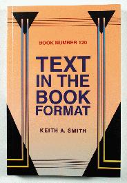 Text in the Book Format - 1