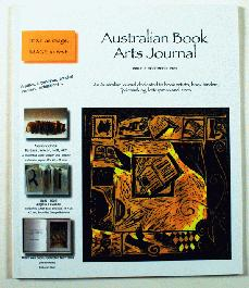 Australian Book Arts Journal 3 - 1