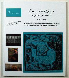Australian Book Arts Journal 1 - 1
